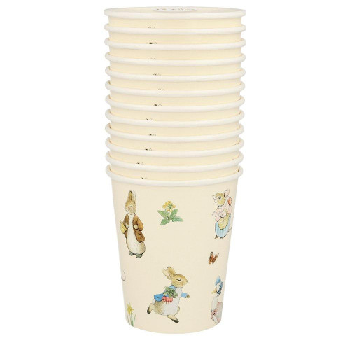 Paper Party Cups Set, Peter Rabbit & Friends