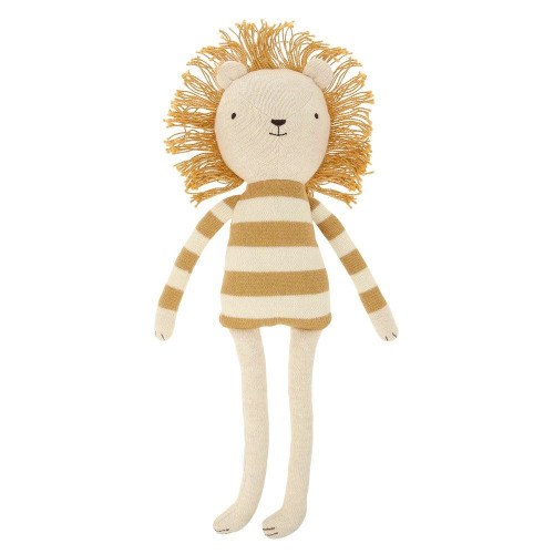 Angus Lion Small Knitted Plush