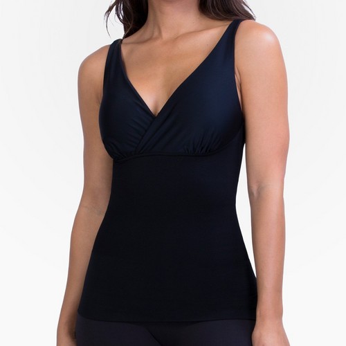 MOTHER TUCKER® Compression Nursing Tank, Black