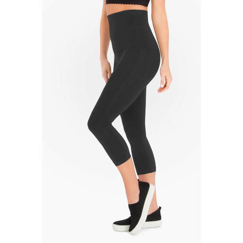 MOTHER TUCKER® Capri Leggings, Steel Grey