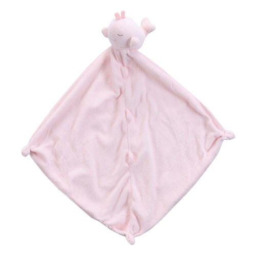 Pink Whale Security Blankie