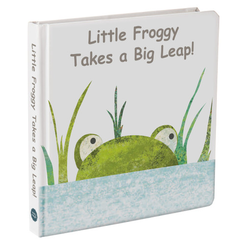 """""""Little Froggy Takes a Big Leap!"""" Board Book"""