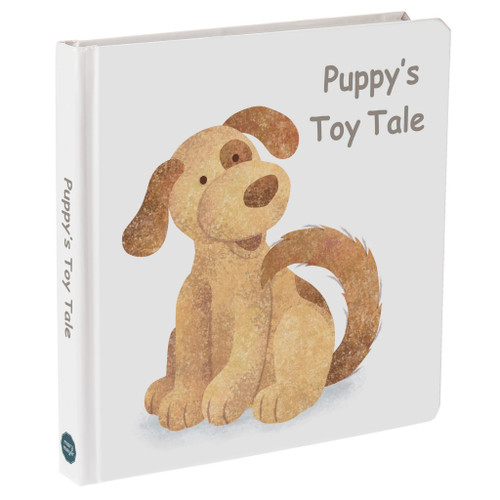 """""""Puppy's Toy Tale"""" Board Book"""