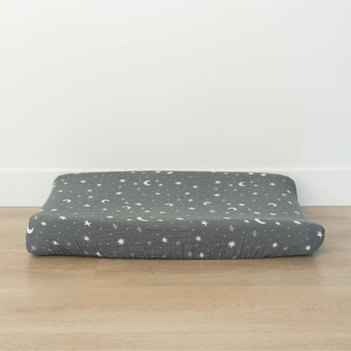 Muslin Changing Pad Cover, Night Sky