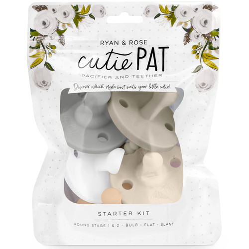 Cutie PAT Pacifier Kit, Neutral