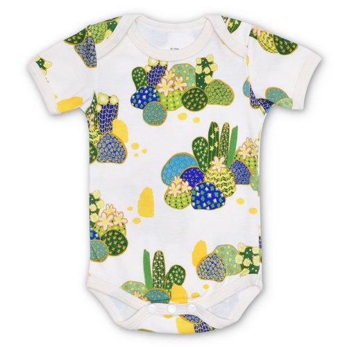 Organic Cotton Bodysuit, Joshua Tree