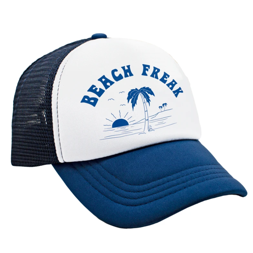 Beach Freak Mesh Trucker Hat