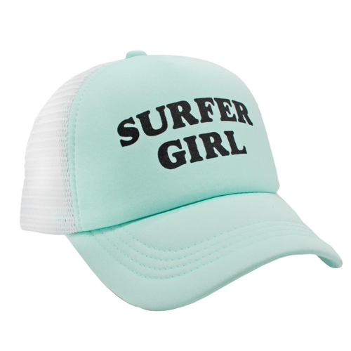 Surfer Girl Trucker Hat