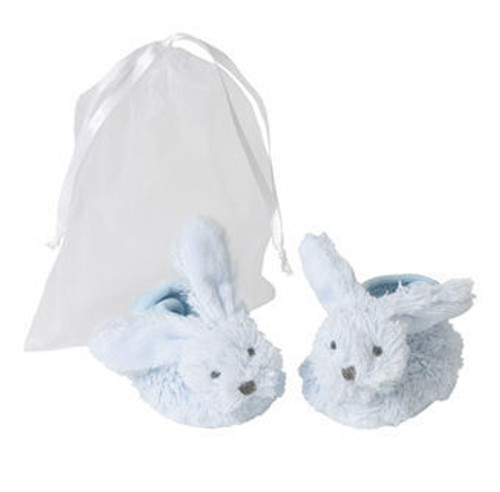 Blue Rabbit Richie Baby Slippers