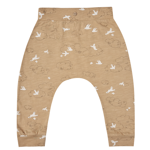 Rylee & Cru Slouch Pant, Almond Clouds