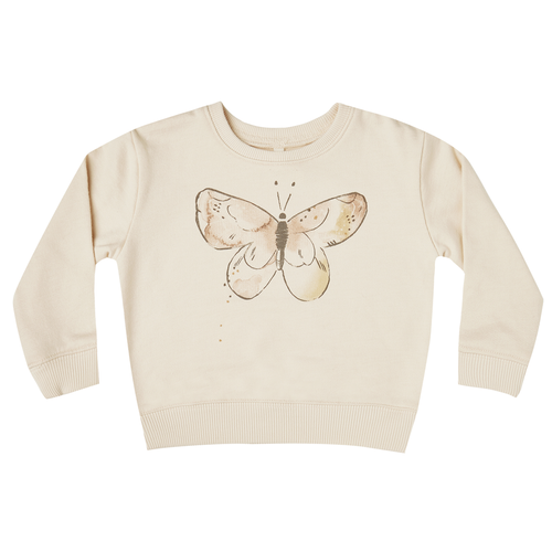 Rylee & Cru French Terry SweatShirt, Butterfly