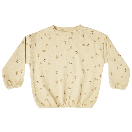 Rylee & Cru Slouchy Pullover, Little Flower