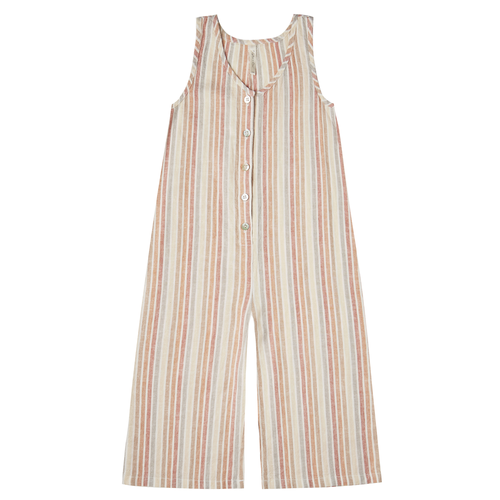 Rylee & Cru Bridgette Jumpsuit, Multi Stripe
