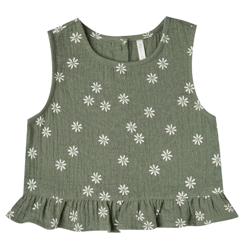 Rylee & Cru Oceanside Top, Fern Daisy