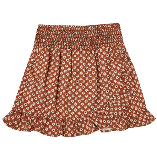 Rylee & Cru Wrap Ruffle Skirt, Flower Power
