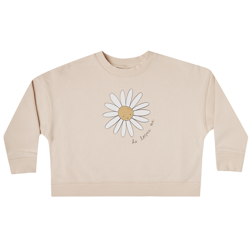 Rylee & Cru Boxy Pullover, Daisy Love
