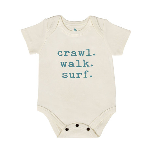Graphic Bodysuit, Crawl. Walk. Surf.