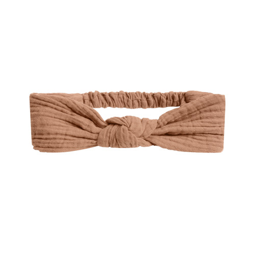 Rylee & Cru Knotted Headband, Terracotta