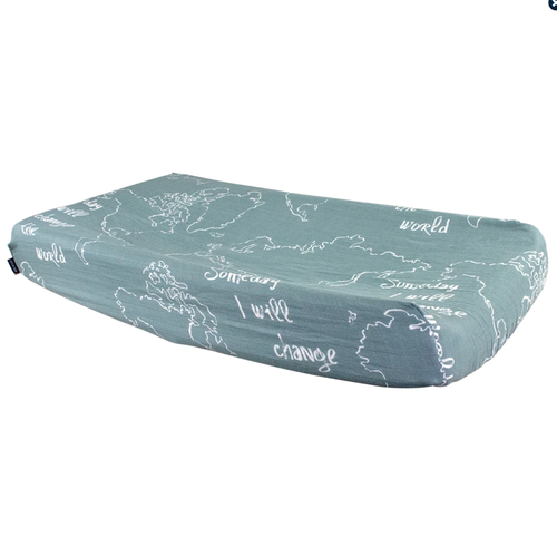 Muslin Changing Pad Cover, Someday