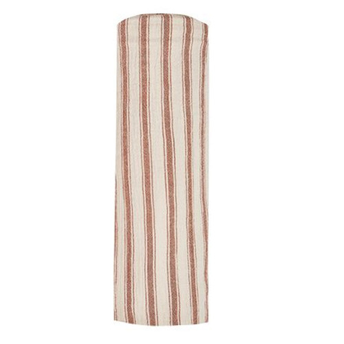 Rylee & Cru Swaddle, Amber/Natural Stripe