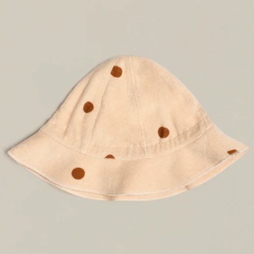 Organic Terry Sunhat, Spice Dots