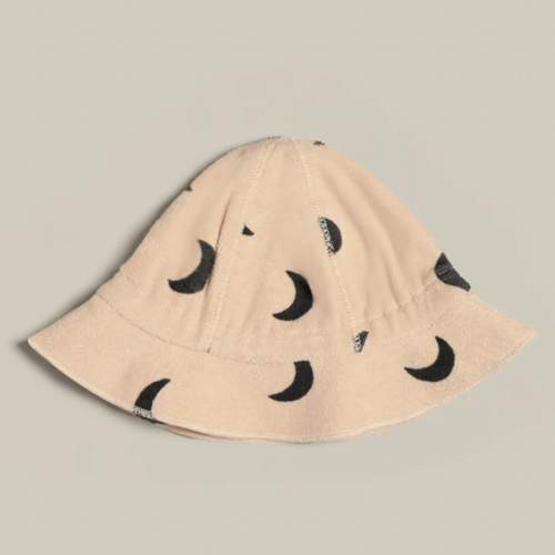 Organic Terry Sunhat, Pebble Midnight