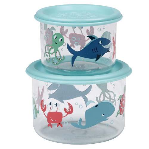 Small Snack Containers, Ocean
