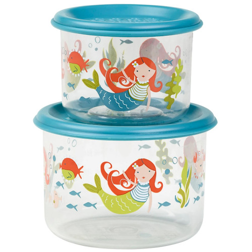 Small Snack Containers, Isla the Mermaid
