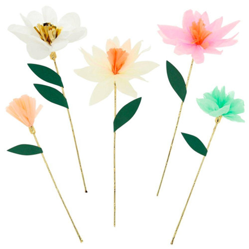 Flower Garden Decorative Party Sticks