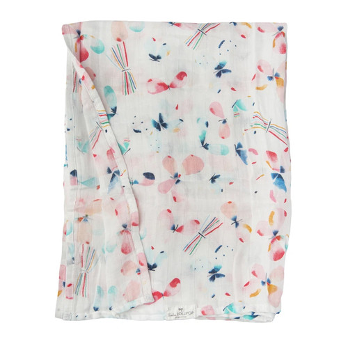 Bamboo Muslin Swaddle, Butterfly