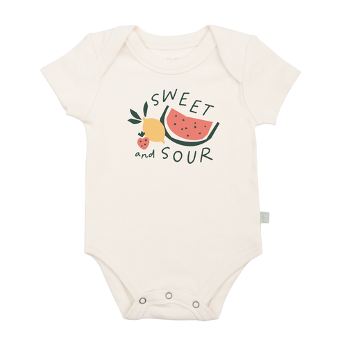 Graphic Bodysuit, Sweet and Sour