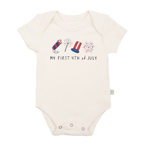 Graphic Bodysuit, My First 4th of July