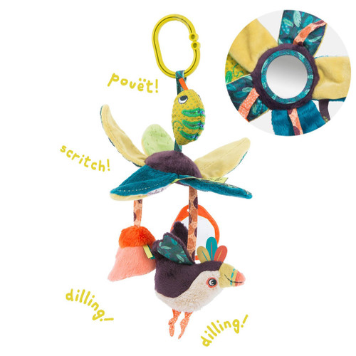Leaves Hanging Activity Toy