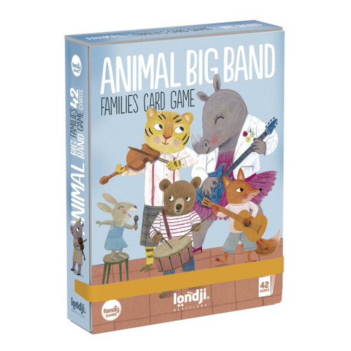 Animals Big Band Family Card Game