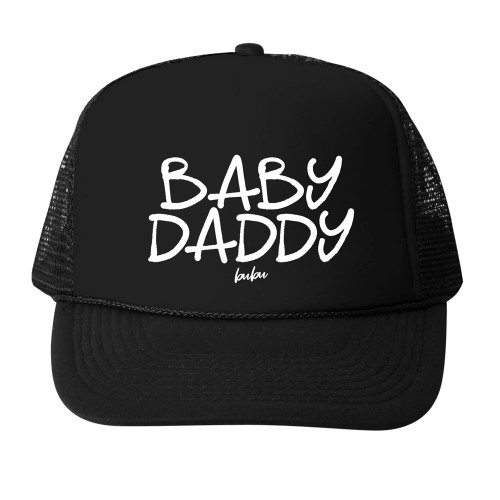 Baby Daddy Adult Mesh Trucker Hat