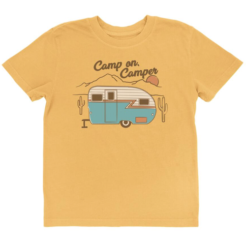 Vintage Tee, Camp on Camper
