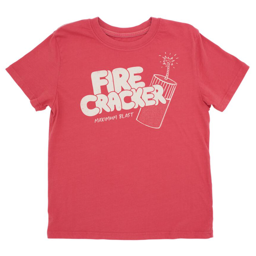 Vintage Tee, Fire Cracker