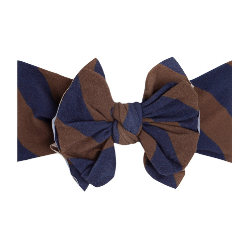 FAB-BOW-LOUS Bow, Navy/Bronze