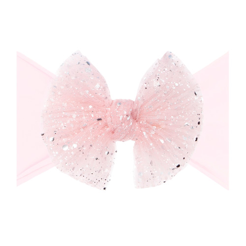 Tulle FAB-BOW-LOUS Bow, Princess Pink