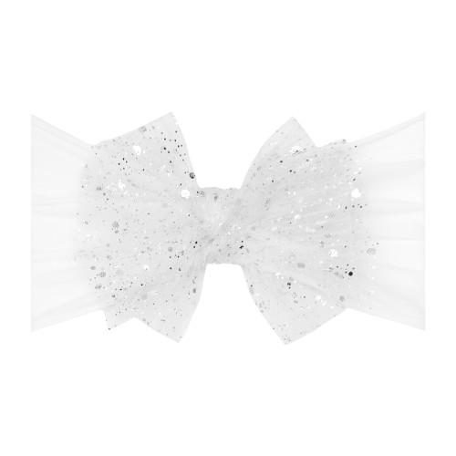 Tulle FAB-BOW-LOUS Bow, Princess White
