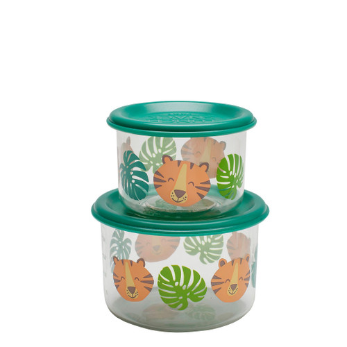 Small Snack Containers, Tiger