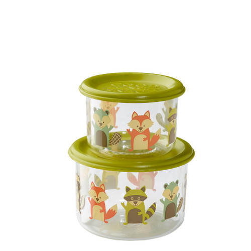 Small Snack Containers, Fox