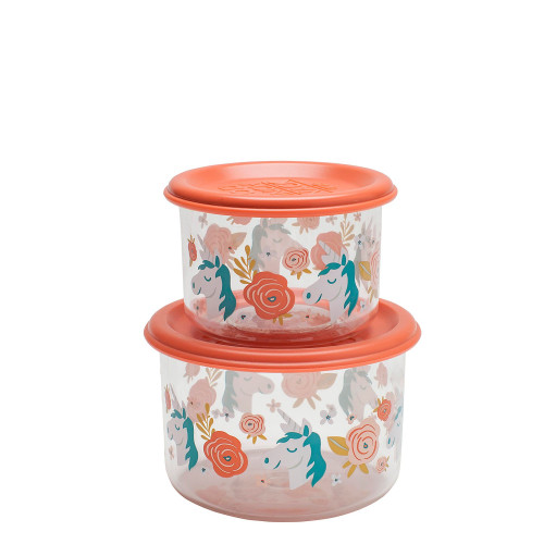 Small Snack Containers, Unicorn