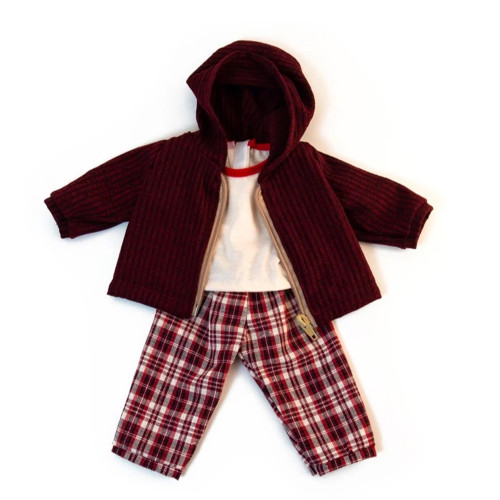 Cold Weather Trousers Set for Miniland Doll