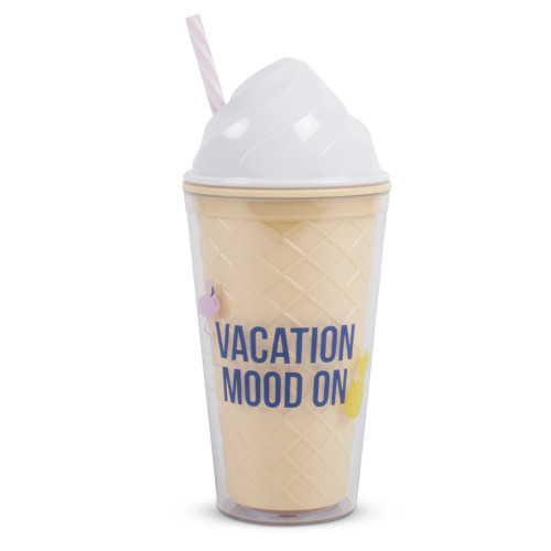 Ice Cream Tumbler Cup, Vacation