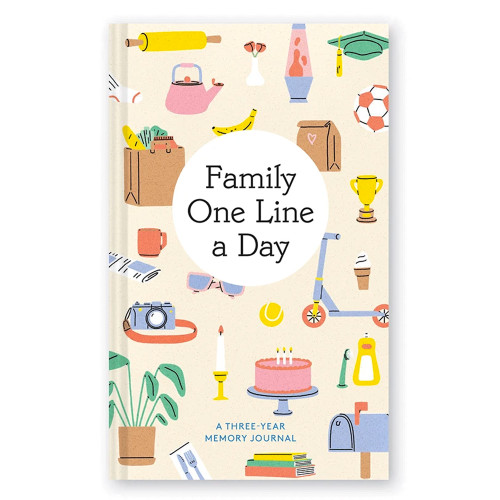 Family One Line a Day: A Three-Year Memory Journal