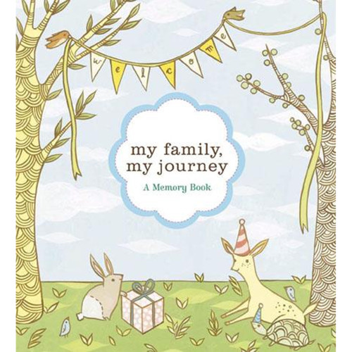 My Family My Journey: A Baby Book for Adoptive Families
