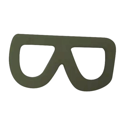 Silicone Glasses Teether, Olive