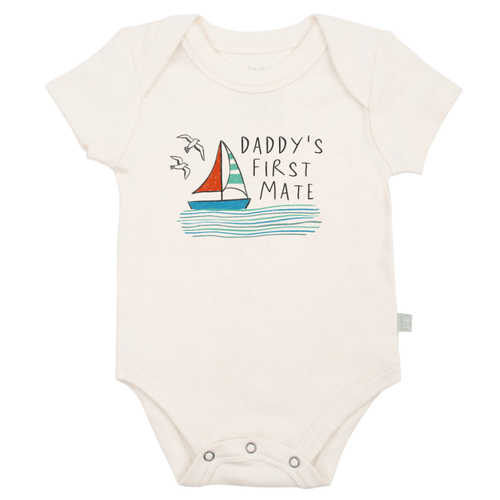 Graphic Bodysuit, Daddy's First Mate