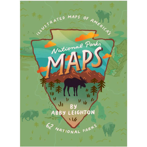 National Parks Maps Book